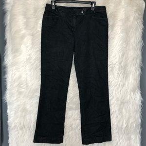 Talbot petites black pants size 10